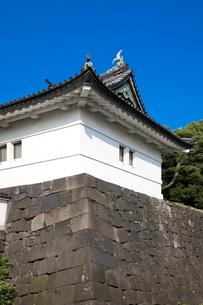 渡櫓門の写真素材 [FYI00403679]