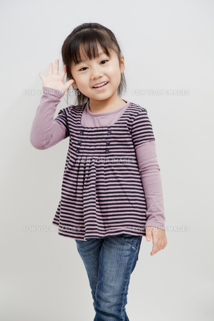 笑顔の女の子の素材 [FYI00403688]