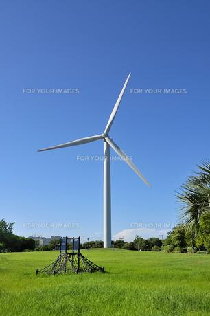 風車の素材 [FYI00403736]