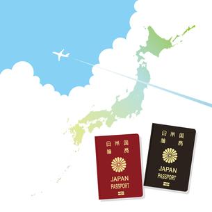 パスポートの素材 [FYI00403911]