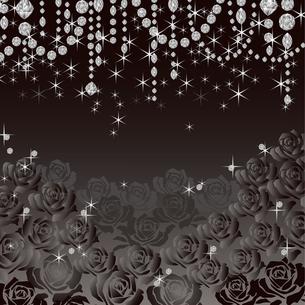 ジュエリー 薔薇 背景の素材 [FYI00403917]