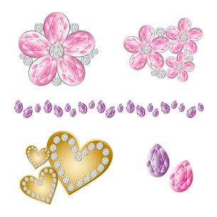 宝石素材の素材 [FYI00403923]
