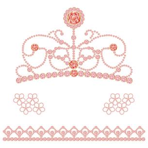 ティアラ 素材の素材 [FYI00403938]