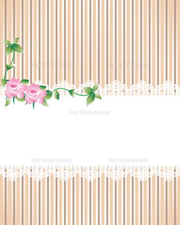薔薇 レース 背景の写真素材 [FYI00403974]