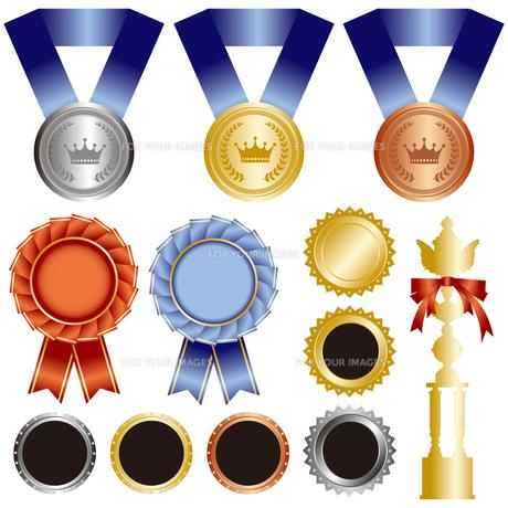メダル 素材の写真素材 [FYI00403995]