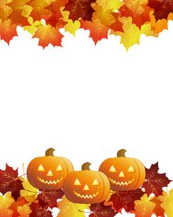 ハロウィーン かぼちゃ 背景の写真素材 [FYI00404082]