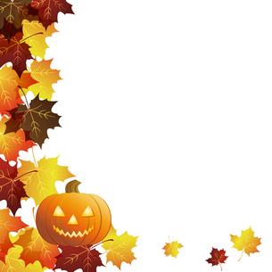 ハロウィーン かぼちゃ 背景の写真素材 [FYI00404098]