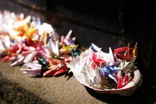 折り鶴の写真素材 [FYI00404167]