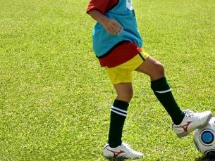 サッカー少女の写真素材 [FYI00404285]