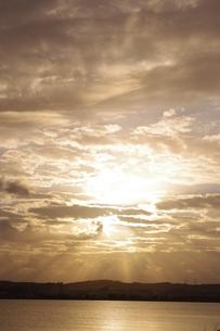 夕日の写真素材 [FYI00404339]