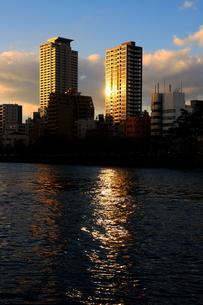 水都の夕暮れの写真素材 [FYI00404604]