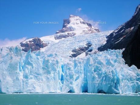 氷河の写真素材 [FYI00404703]