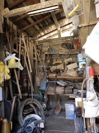 農具小屋の写真素材 [FYI00404722]