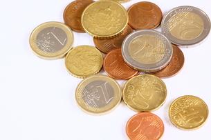 ユーロコインの写真素材 [FYI00404789]