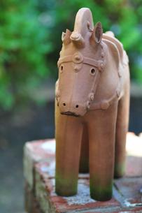 埴輪の馬の写真素材 [FYI00405161]