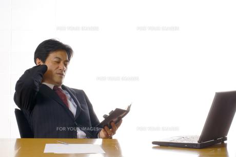 ビジネスマンのポートレートの写真素材 [FYI00405193]