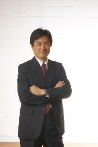 ビジネスマンのポートレートの写真素材 [FYI00405202]