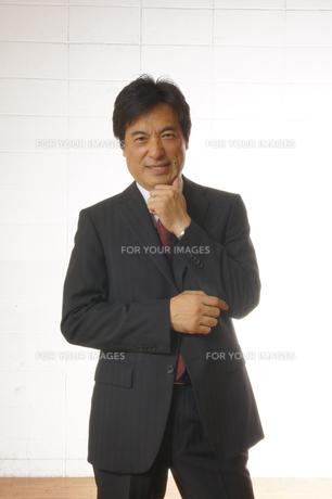ビジネスマンのポートレートの写真素材 [FYI00405209]