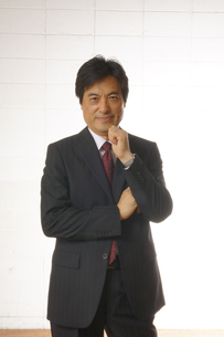 ビジネスマンのポートレートの写真素材 [FYI00405213]