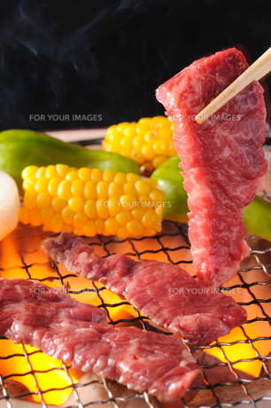 焼肉の写真素材 [FYI00405227]