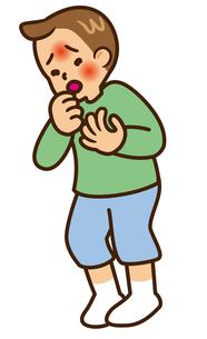 咳の写真素材 [FYI00405385]