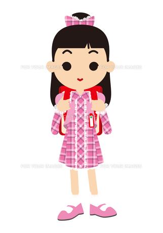 入学式の女の子の写真素材 [FYI00405430]
