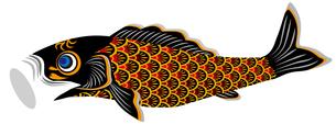 鯉幟真鯉の写真素材 [FYI00405463]