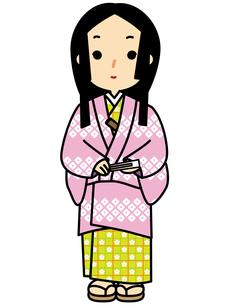 小袖のお姫様の写真素材 [FYI00405499]