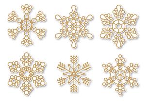 雪の結晶の写真素材 [FYI00405512]