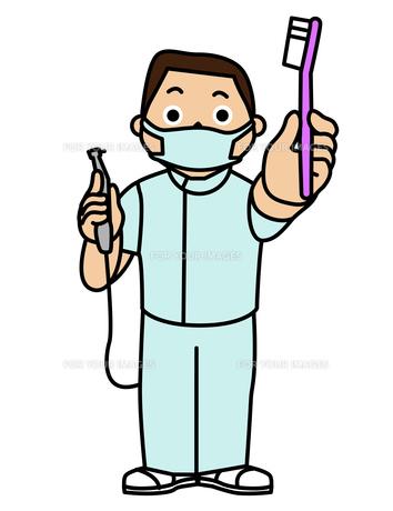 歯科医の写真素材 [FYI00405569]