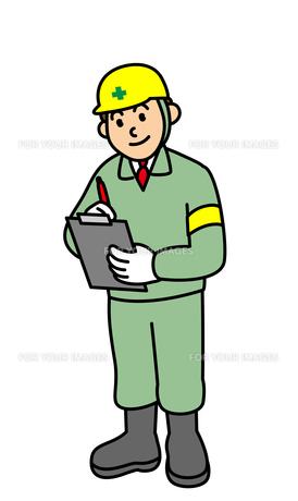 現場で働く男性の写真素材 [FYI00405594]
