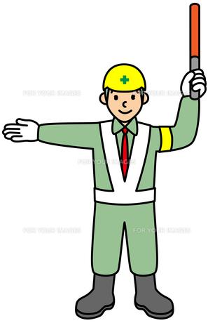 現場で働く男性の写真素材 [FYI00405599]
