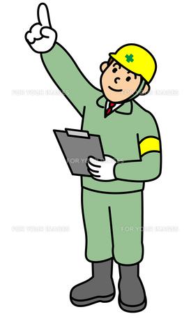 現場で働く男性の写真素材 [FYI00405606]