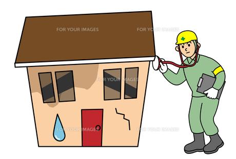 住宅診断の写真素材 [FYI00405609]