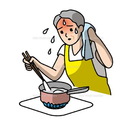 高齢者の熱中症注意の素材 [FYI00405653]
