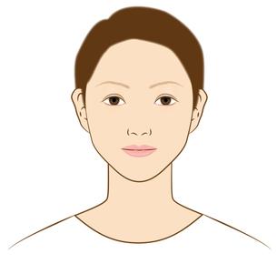20〜30代の女性の顔 の素材 [FYI00405665]