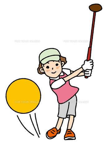 パークゴルフの写真素材 [FYI00405787]