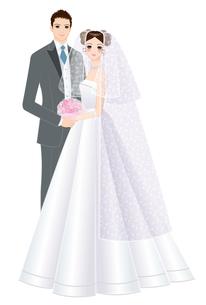 花嫁花婿の写真素材 [FYI00405829]