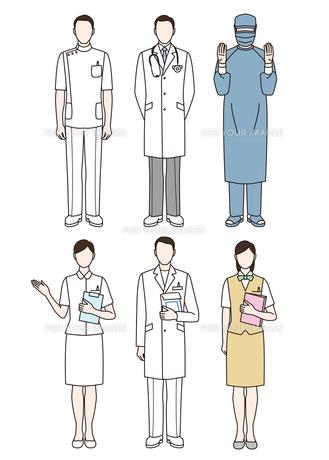 医療スタッフの写真素材 [FYI00405918]