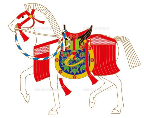 神馬の写真素材 [FYI00405927]