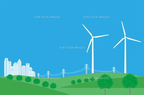 風力発電の写真素材 [FYI00405948]