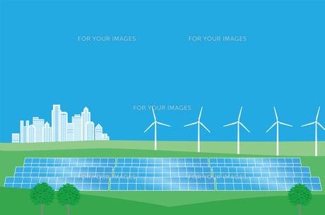 クリーンエネルギーの写真素材 [FYI00405949]