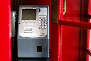赤い電話ボックスの写真素材 [FYI00405988]