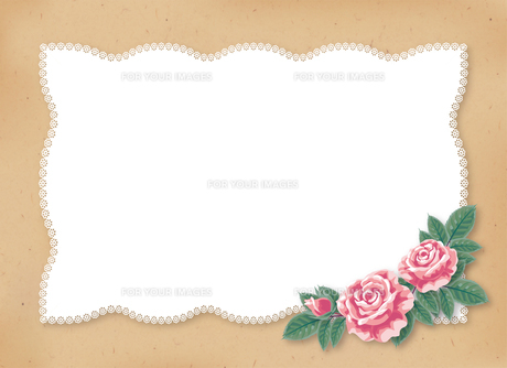 薔薇のカードの素材 [FYI00406009]