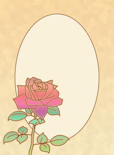 薔薇一輪 縦長の素材 [FYI00406768]