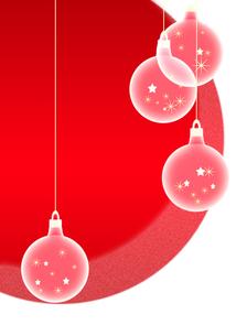 クリスマスオーナメントの素材 [FYI00406792]