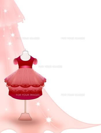 女の子のドレスの写真素材 [FYI00406793]