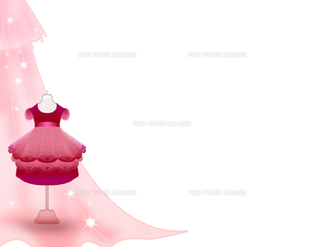 女の子のドレスの写真素材 [FYI00406809]