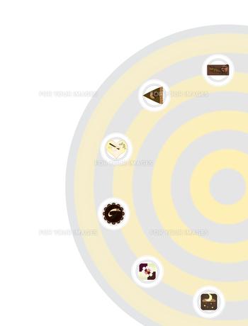 チョコケーキ色々の写真素材 [FYI00406900]