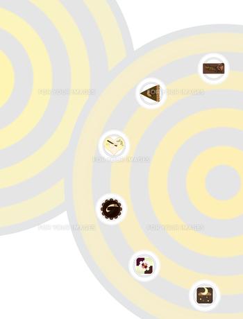 チョコケーキ色々の写真素材 [FYI00406921]